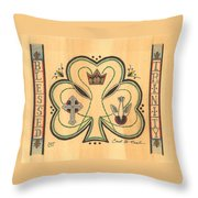 Blessed Trinity Throw Pillow
