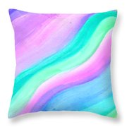 Blessing Flowing Throw Pillow