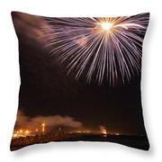 Blessing Of The Fleet - Fremantle 2am-112472 Throw Pillow