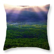 Blessings From Above Throw Pillow