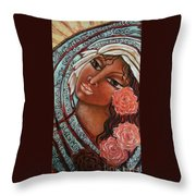 Blessings Of The Magdalene Throw Pillow