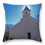 Blessings Throw Pillow by Skip Willits