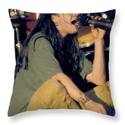 Blind Melon Singer Shannon Hoon Throw Pillow