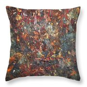 Blindness Throw Pillow by Chaline Ouellet