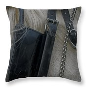 Blinkers Throw Pillow