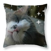 Bliss Throw Pillow by Jacquelyn Roberts