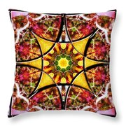 Blissful Ascension Throw Pillow