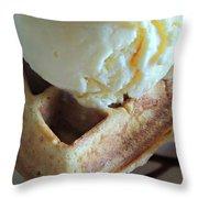 Blissful Breakfast Throw Pillow