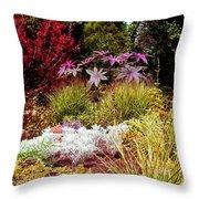 Blithewold Gardens Bristol Rhode Island Throw Pillow