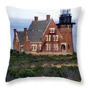 Block Island Southeast Throw Pillow