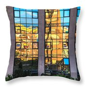 Blocks Throw Pillow