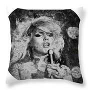 Blondie - Heart Of Glass Throw Pillow