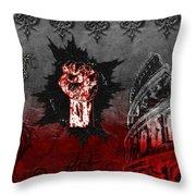 Blood Lust Throw Pillow