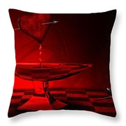 Blood Of Love Throw Pillow