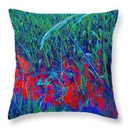 Bloody Battle Of New Orleans 1 Throw Pillow