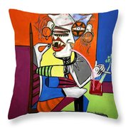 Bloody Mary Let The Dead Bury The Dead Throw Pillow