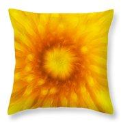 Bloom Of Dandelion Throw Pillow