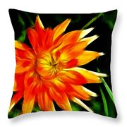 Bloom Tine Throw Pillow