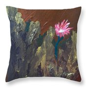 Bloom Where You're Planted Throw Pillow