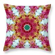 Blooming Awareness Throw Pillow