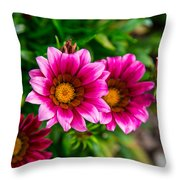 Blooming With Life Throw Pillow