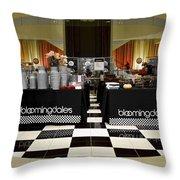 Bloomingdales Showroom Floor Throw Pillow