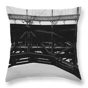 Bloor Street Viaduct Throw Pillow