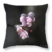 Blossom Delight Throw Pillow