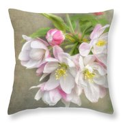 Blossom Festival Throw Pillow