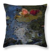 Blossom Rain 13 Throw Pillow