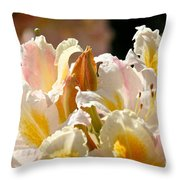 Blossom Top Throw Pillow