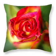 Blossoming Life Throw Pillow