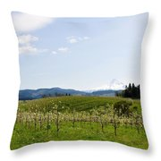 Blossoms In Spring Throw Pillow