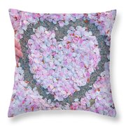 Blossoms Of Love - Cherry Blossoms 2013 - 071 Throw Pillow
