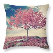 Blossoms Of Spring Throw Pillow