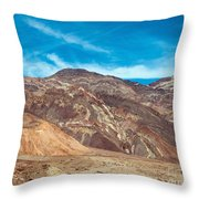 Blotchy Foothills Throw Pillow