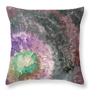 Blow Back Throw Pillow
