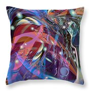 Blow The Lid Off Throw Pillow