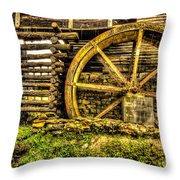 Blowing Cave Mill Est.1880 Throw Pillow