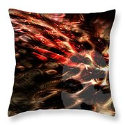 Blowing On The Furnace Of The Imagination Throw Pillow