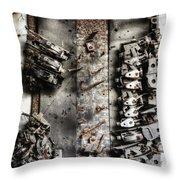 Blown Circuit Throw Pillow