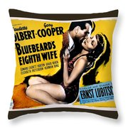 Bludbeards Eight Wife Throw Pillow