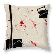 Bludgeoned Throw Pillow