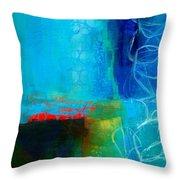 Blue #2 Throw Pillow