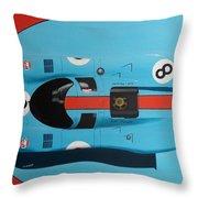 Blue And Orange Throw Pillow