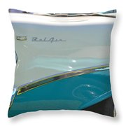 Blue And White Bel Air Convertable Throw Pillow