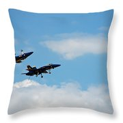 Blue Angels 1 Throw Pillow