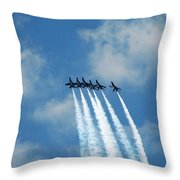 Blue Angels 3 Throw Pillow