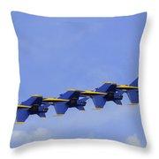 Blue Angels 7 Throw Pillow