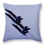 Blue Angels Throw Pillow